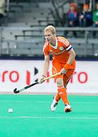 ROTTERDAM - HOCKEY - Klaas Vermeulen tijdens de wedstrijd tussen de mannen bvan Nederland en Nieuw Zeeland (3-3)  bij de Rabobank Hockey World League in Rotterdam. ANP KOEN SUYK