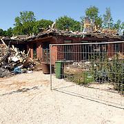 NLD/Laren/20070430 - Door brand verwoeste woning Hanrathsingel Laren