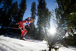 Ole Einar Bjoerndalen (NOR) during Men 15 km Mass Start at day 4 of IBU Biathlon World Cup 2015/16 Pokljuka, on December 20, 2015 in Rudno polje, Pokljuka, Slovenia. Photo by Ziga Zupan / Sportida