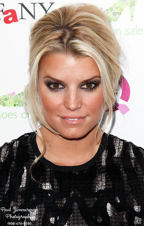 """13 September 2009 - New York, NY - Jessica Simpson. 16th Annual QVC Presents """"FFANY Shoes on Sale"""" to benefit Breast Cancer Research and Education. Photo Credit: Paul Zimmerman/AdMedia"""