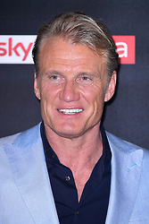 Dolph Lungren attending the Aquaman premiere held at Cineworld in Leicester Square, London.
