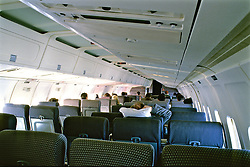 Inside Of Commercial Aircraft