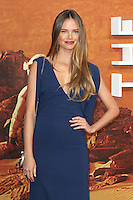 Alicia Rountree, The Martian - European Film Premiere, Leicester Square, London UK, 24 September 2015, Photo by Richard Goldschmidt