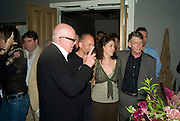 RICHARD WILSON,  ANNA RHYS MEYERS AND JOHN HURT,  'Cries from the Heart' presented by Human Rights Watch at the Theatre Royal Haymarket. London. Party afterwards at the Haymarket Hotel. June 8, 2008 *** Local Caption *** -DO NOT ARCHIVE-© Copyright Photograph by Dafydd Jones. 248 Clapham Rd. London SW9 0PZ. Tel 0207 820 0771. www.dafjones.com.