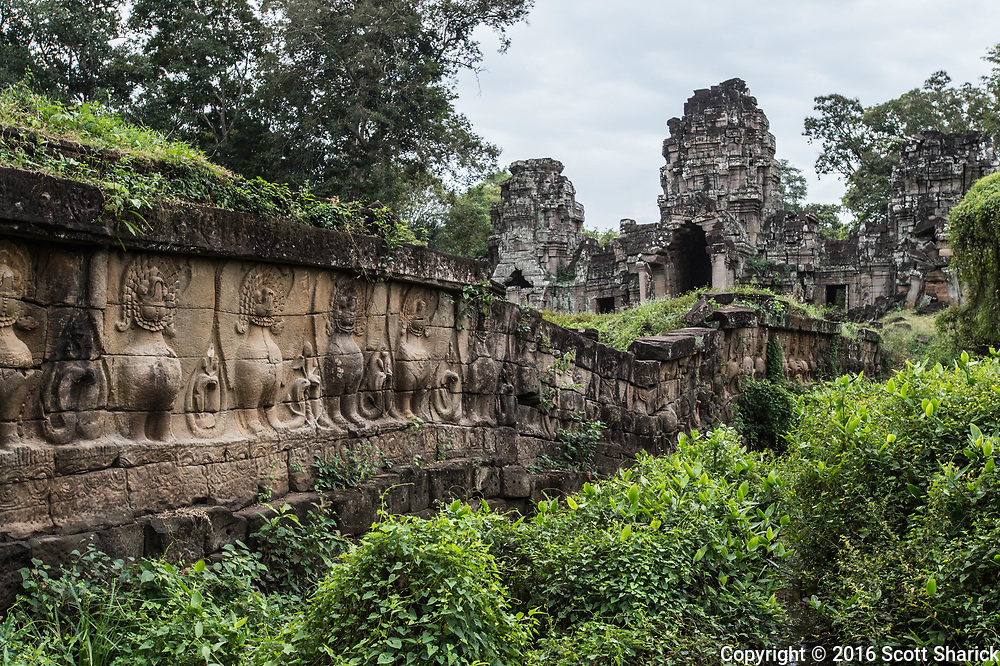 Remote and large temple that was a major part of the Khmer Empire hundreds of years ago.