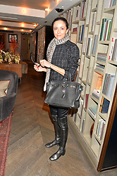 LONDON, ENGLAND 2 DECEMBER 2016: <br /> Luna De Casanova at a breakfast attended by a host of influencers, press and VIPs to celebrate the official launch of EVARAE the new British luxury resort wear brand, held at The Hari Hotel, 20 Chesham Place, London.  England. 2 December 2016.