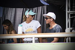 September 12, 2017 - Lakey Peterson of USA before her Round Two heat at the Swatch Pro...Swatch Pro 2017, California, USA - 12 Sep 2017 (Credit Image: © Rex Shutterstock via ZUMA Press)