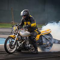 Stuart Dean (4401) on his Kawasaki Modified Bike.