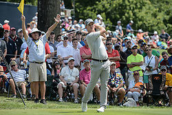 August 9, 2018 - Town And Country, Missouri, U.S - BRANDON STONE from South Africa tees off on the 6th hole during round one of the 100th PGA Championship on Thursday, August 8, 2018, held at Bellerive Country Club in Town and Country, MO (Photo credit Richard Ulreich / ZUMA Press) (Credit Image: © Richard Ulreich via ZUMA Wire)