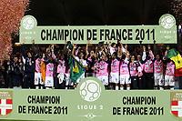 FOOTBALL - FRENCH CHAMPIONSHIP 2010/2011 - L2 - EVIAN TG v FC METZ - 27/05/2011 - PHOTO ERIC BRETAGNON / DPPI - EVIAN