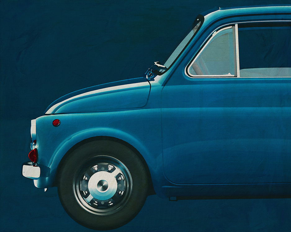 Fiat Abarth 595 1968<br /> Everybody knows the Fiat 500 but a Fiat Abarth is only known among car enthusiasts. The Fiat 500 is a typical city car but the Fiat Abarth is a racing machine. -<br /> <br /> BUY THIS PRINT AT<br /> <br /> FINE ART AMERICA<br /> ENGLISH<br /> https://janke.pixels.com/featured/1-fiat-500-abart-version-jan-keteleer.html<br /> <br /> WADM / OH MY PRINTS<br /> DUTCH / FRENCH / GERMAN<br /> https://www.werkaandemuur.nl/nl/shopwerk/Fiat-Abarth-595-1968-Kant/571918/132