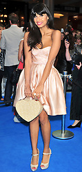 "© licensed to London News Pictures. London, UK  12/05/11 Jameela Jamil attends the UK premiere of Pirates of the Carribean 4 ""on Stranger Tides"" at Londons Westfield . Please see special instructions for usage rates. Photo credit should read AlanRoxborough/LNP"