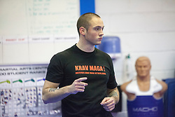 KMG Instructor from the Institute Krav Maga Netherlands, Stef Noij, takes the IKMS G Level Programme seminar today at the Scottish Martial Arts Centre, Alloa.