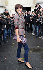 Oct 02 2012  Inès de la Fressange at Chanel in Paris