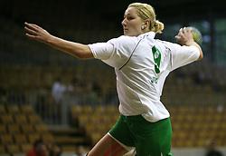 Nina Jericek of Olimpija at  handball game between women team RK Olimpija vs ZRK Brezice at 1st round of National Championship, on September 13, 2008, in Arena Tivoli, Ljubljana, Slovenija. Olimpija won 41:17. (Photo by Vid Ponikvar / Sportal Images)
