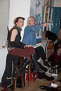 AMANDA PALMER; BRYONY KIMMINGS , The Other Club, Kingly Court, Soho. London. 15 November 2013