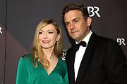 Sebastian Bezzel mit Ehefrau Johanna Christine Gehlen auf dem Roten Teppich anlässlich der Verleihung des 41. Bayerischen Filmpreises 2019 am 17.01.2020 im Prinzregententheater München.