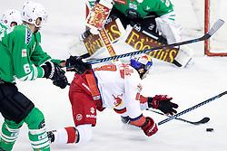 Florian Baltram of RBS during ice hockey match between HDD Olimpija Ljubljana and EC Red Bull Salzburg in Erstebank league season 2016/17, on October 30, 2016 in Hala Tivoli, Ljubljana, Slovenia. Photo by Morgan Kristan / Sportida