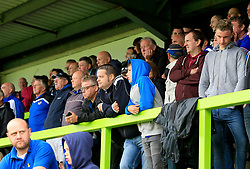 Bristol Rovers fans watch the action - Mandatory by-line: Paul Roberts/JMP - 22/07/2017 - FOOTBALL - New Lawn Stadium - Nailsworth, England - Forest Green Rovers v Bristol Rovers - Pre-season friendly