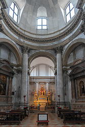 Inside the Santa Lucia church in Venice. From a series of travel photos in Italy. Photo date: Monday, February 11, 2019. Photo credit should read: Richard Gray/EMPICS