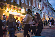 Covent Garden, . West End, t. London. 28 July 2016