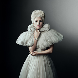 November 2, 2017 - Switzerland - New York singer LADY GAGA has been signed up as the latest big name ambassador for the company's Born to Dare campaign. And the 31-year-old Poker Face star celebrated by making a 30 second commercial showing her in a musical piano battle with herself to promote the company' s Black Bay model. (Credit Image: © Ferrari/Visual via ZUMA Press)