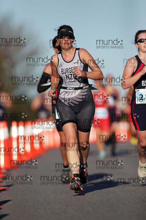 (Ottawa, Canada---10 August 2013)  \Burgess\ International Triathlon Union 2013 World Duathlon Championships (10 km run- 40 km bike- 5km run).