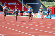 Women's 200m Final which was won by Shaunae MILLER-UIBO of Bahamas during the Muller Grand Prix at Alexander Stadium, Birmingham, United Kingdom on 18 August 2019.
