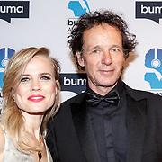 NLD/Hilversum/20150217 - Inloop Buma Awards 2015, Ilse de Lange en ...............
