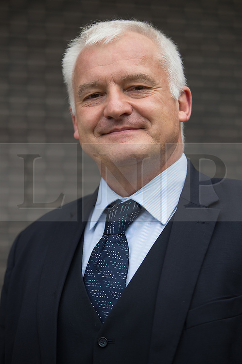 © Licensed to London News Pictures . 29/09/2017 . Torquay , UK .   DR HUGH BRONSON MEP of the AfD ( Alternative for Germany or Alternative für Deutschland ) arrives to speak at the conference . The UK Independence Party Conference at the Riviera International Centre . UKIP is due to announce the winner of a leadership election which has the potential to split the party . Photo credit: Joel Goodman/LNP