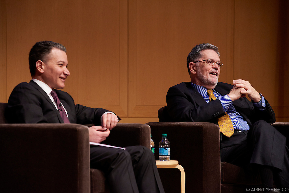 Educators' Town Hall<br /> Narrating History: Bringint the Past to Life through Storytelling with Jeffrey Rosen, NCC CEO and Geoffrey Ward, presidential historian.<br /> Headed to the White House Opening Day<br /> National Constitution Center<br /> February 11, 2016