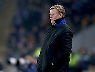 Ronald Koeman manager of Everton watches the game during the English Premier League match at the KCOM Stadium, Kingston Upon Hull. Picture date: December 30th, 2016. Pic Simon Bellis/Sportimage