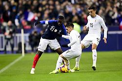 November 20, 2018 - St Denis, France, France - Tanguy Ndombele (France) vs Lucas Torreira  (Credit Image: © Panoramic via ZUMA Press)