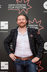 Photo-call and Red Carpet for the film Edie, directed by Simon Hunter at the Edinburgh International Film Festival<br /> <br /> Pictured: Olly Stothert (Producer)