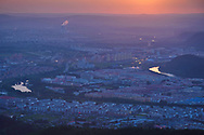 Sunset over Yichun City, Heilongjiang Province, China. In July 2016, here was held a major nature photography exhibition event, with almost 3 000 images exhibited, and our team showed three exhibitions of c. 60 images each, from Tangjiahe, from the Wild Wonders of China, and from the Wild Wonders of Europe.
