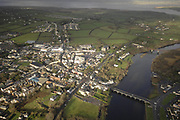 An aerial view of Killorglin in County Kerry.<br /> Picture by Don MacMonagle