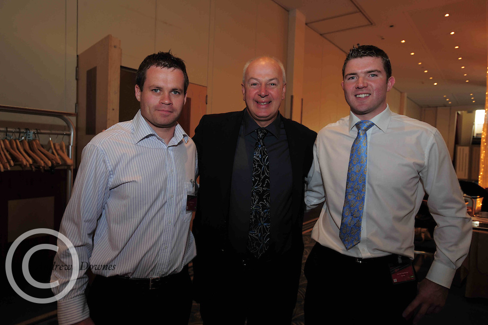 Local business people  Simon and Garrett Spellman Roscommon from Flip  save  came face to face with Bobby Kerr of Dragon's Den,  when they attended the An Post Driving Success Roadshow at the Radisson Hotel, Galway. The event focused on practical and creative marketing techniques and saw attendees gain valuable insights into successful campaigns from leading marketing experts. Broadcaster Matt Cooper was MC at the event. .Photo:Andrew Downes