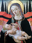 The Madonna and Child 1480. Part of the collection of Upton House.