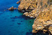 Cavern Point, Santa Crus Island, Channel Islands National Park, California USA