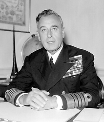 File photo dated 16/07/59 of Lord Louis Mountbatten. The Duke and Duchess of Cambridge have announced that their son will be named Louis Arthur Charles, paying tribute to the Prince of Wales's great-uncle, Earl Mountbatten, who was murdered by the IRA.