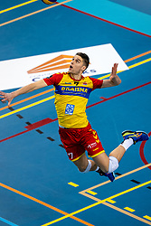 Frits van Gestel of Dynamo in action during the league match between Draisma Dynamo vs. Amysoft Lycurgus on March 13, 2021 in Apeldoorn.