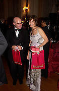 William Norwich and Peggy Seigal, Ball at Blenheim Palace in aid of the Red Cross, Woodstock, 26 June 2004. SUPPLIED FOR ONE-TIME USE ONLY-DO NOT ARCHIVE. © Copyright Photograph by Dafydd Jones 66 Stockwell Park Rd. London SW9 0DA Tel 020 7733 0108 www.dafjones.com