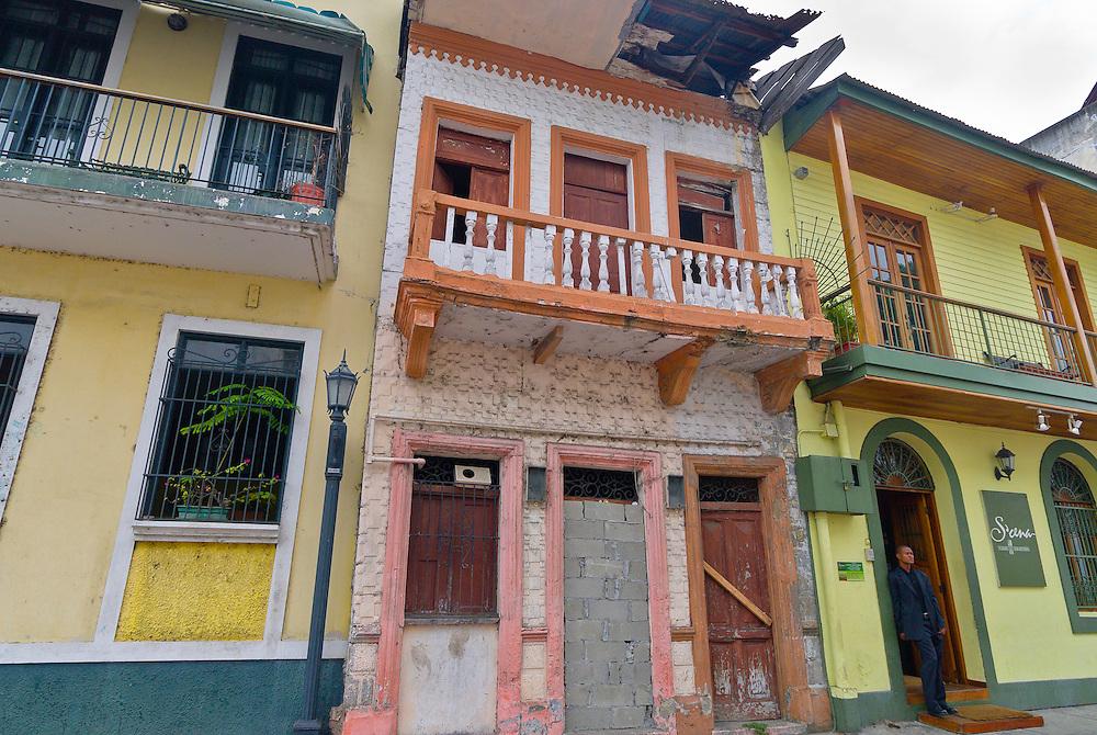 Street scene, Casco Viejo (Old City), San Felipe district, Panama City, Panama