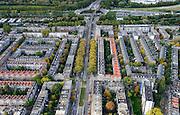 Nederland, Zuid-Holland, Rotterdam, 23-10-2013; Schieweg<br /> North Rotterdam. residential area.<br /> luchtfoto (toeslag op standaard tarieven);<br /> aerial photo (additional fee required);<br /> copyright foto/photo Siebe Swart.