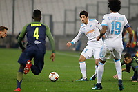 Hiroki Sakai of Marseille during the Uefa Europa League match between Olympique de Marseille and Red Bull Salzburg at Stade Velodrome on December 7, 2017 in Marseille, France.