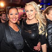 NLD/Amsterdam/20130211- Uitreiking Edison Pop 2013, Ingrid Simons en Mandy Huydts