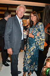 COUNT LEOPLOD & COUNTESS DEBONAIRE VON BISMARCK at a party to celebrate the opening of the jeweller Ara Vartanian's Flagship Store 44 Bruton Place, London on 7th September 2016.