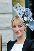 Marianne Walsh, Galway, at the Most Stylish Lady event on ladies day of The Galway Races. Photo:Andrew Downes