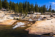 Tuolumne River, Tuolumne Meadows, Yosemite National Park, California USA