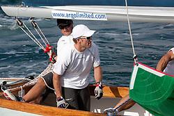 Jesper Radich during qualifying session 2 of the Argo Group Gold Cup 2010. Hamilton, Bermuda. 6 October 2010. Photo: Subzero Images/WMRT